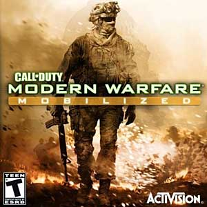 Обложка саундтрека Call Of Duty Modern Warfare Mobilized