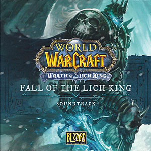 Обложка саундтрека World of Warcraft: Wrath of the Lich King — Fall of the Lich King