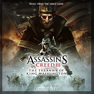 Обложка саундтрека Assassin's Creed 3: Tyranny of King Washington